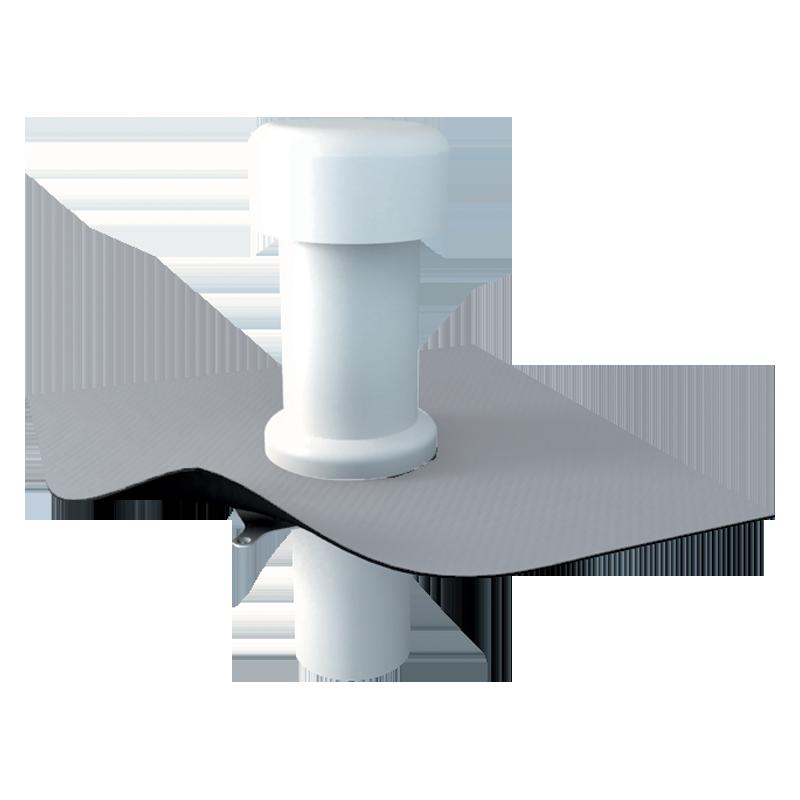 Aerisire TOPWET pentru acoperiş cu izolatie termică twop-pvc