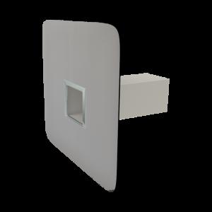 Deversor rectangular de colţ twpp-pvc