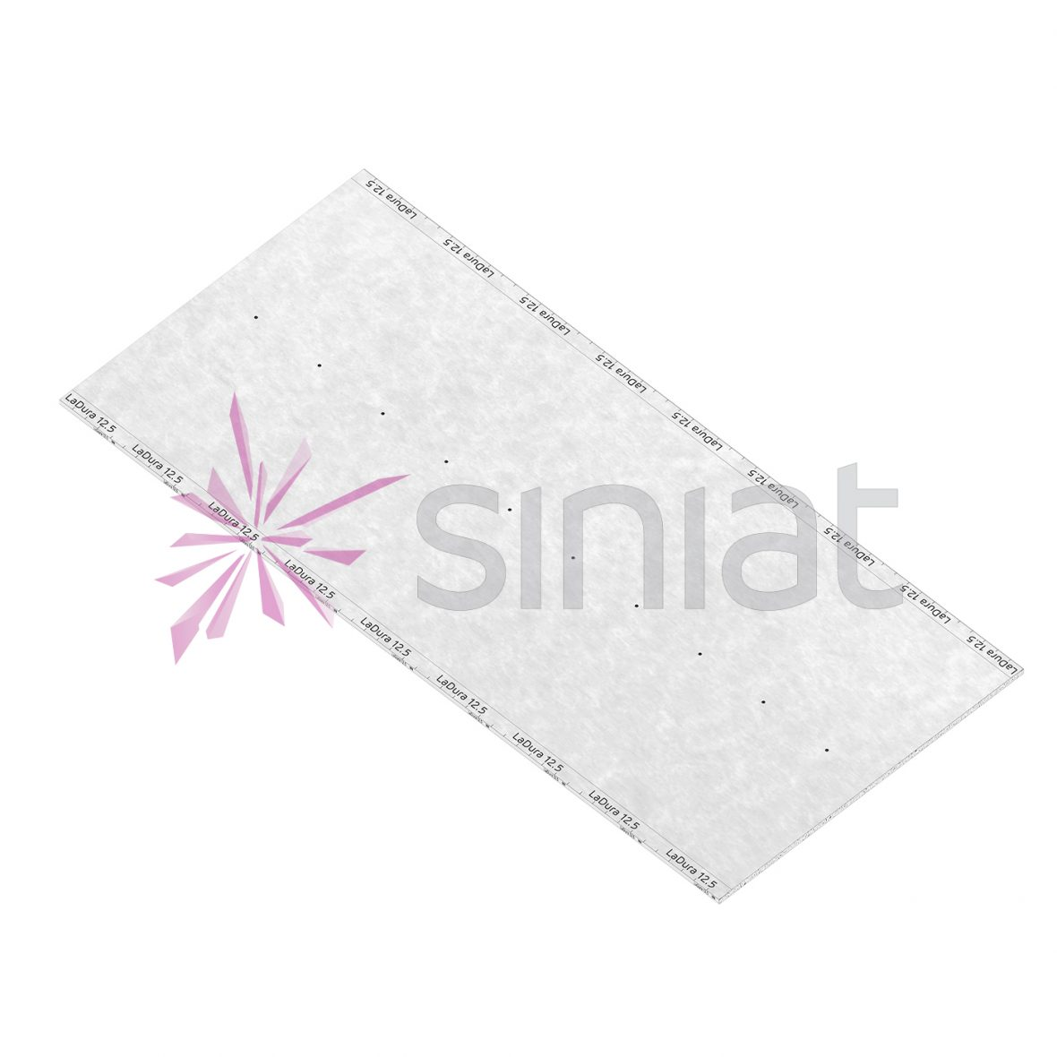 Placă gips-carton rezistentă la impact Ladura 12,5