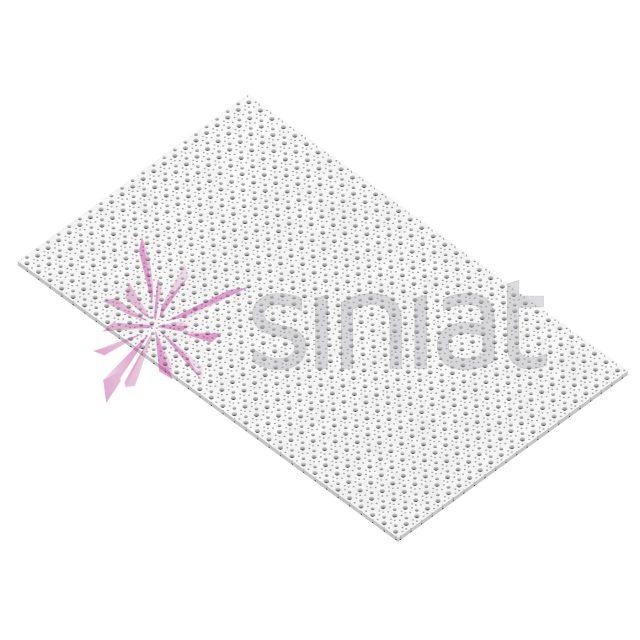 Placă gips-carton perforată Nida Sonic 8/15/20 NO