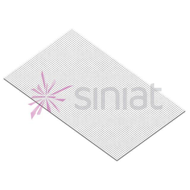 Placă gips-carton perforată Nida Sonic R10 N0