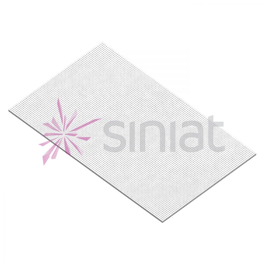 placa gips-carton Siniat NIDA Sonic R8 N0 8-18
