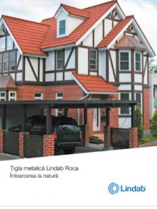 Broșură țiglă metalică Lindab Roca