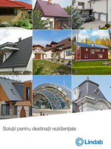 Broșură Lindab pentru soluții rezidențiale