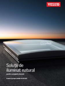 Broșură acoperiș terasă